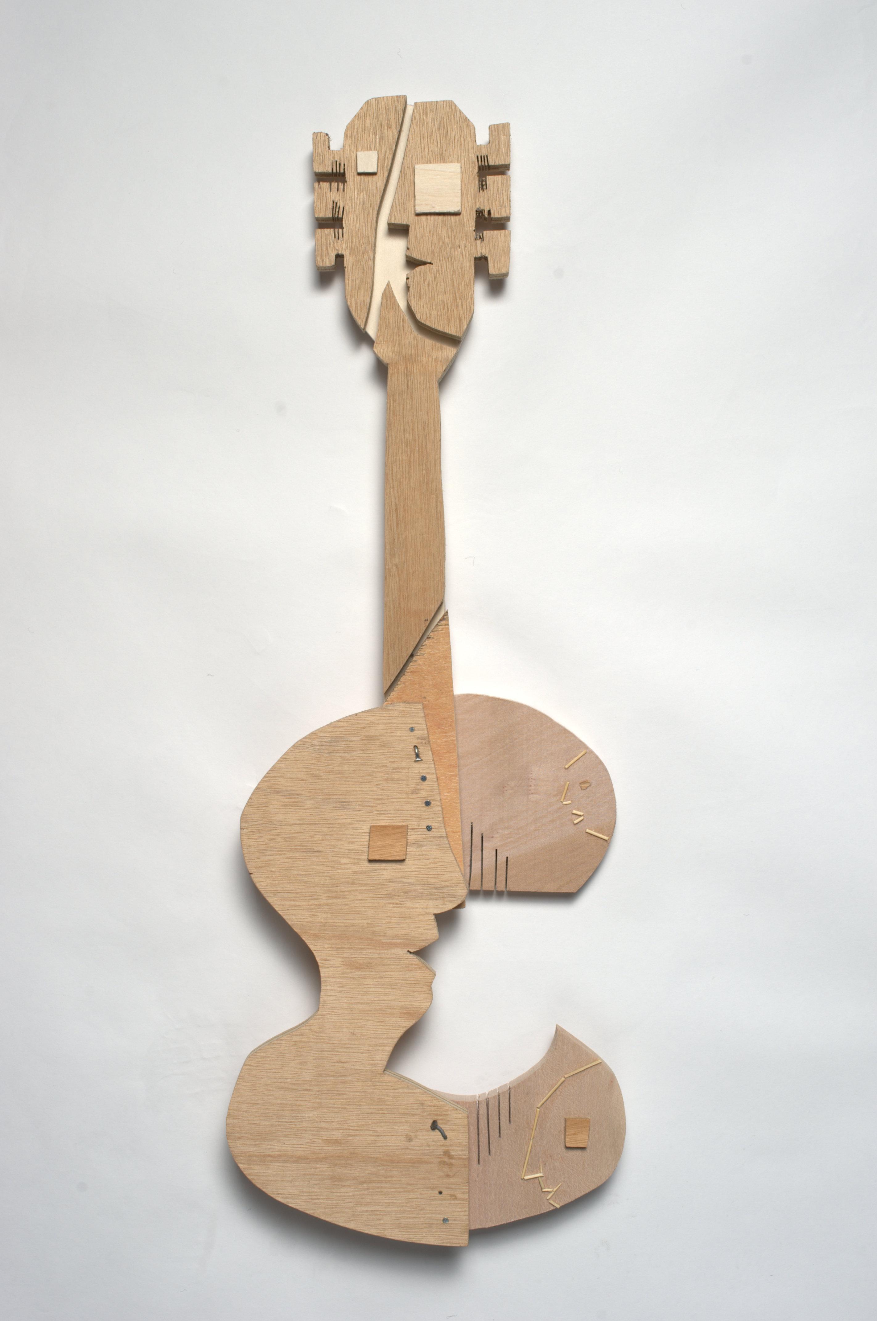 gitaar, 2014 Sjoukje Gootjes