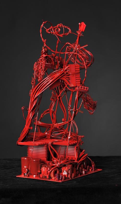 Sjoukje Gootjes 2012 rood portret 1