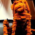 Hond/ Leeuw in theater De Spiegel in Zwolle