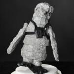 Pinguin Aluminium met rugzak 2012, Sjoukje Gootjes