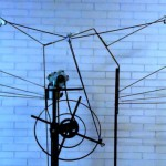 Bewegende Vleugel Machine Metaal Electromotor 2012, Sjoukje Gootjes
