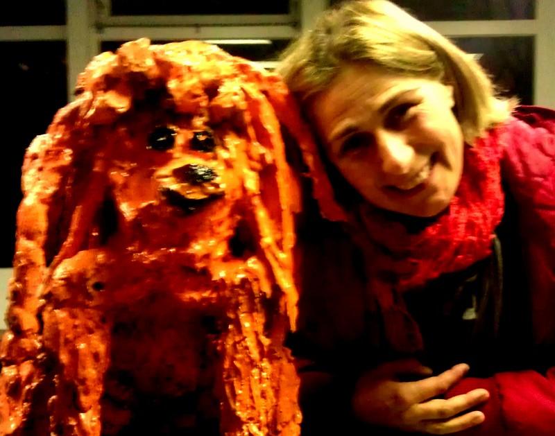 Hond gips 2011, Sjoukje Gootjes